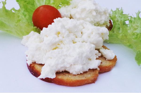 Бутерброды с домашним творогом