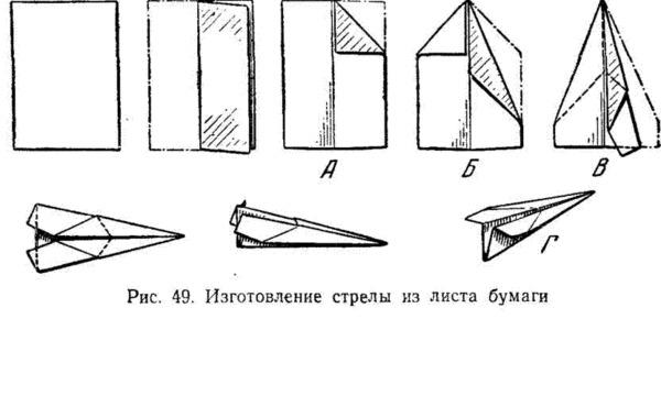 Как сделать пикирующий самолет из бумаги