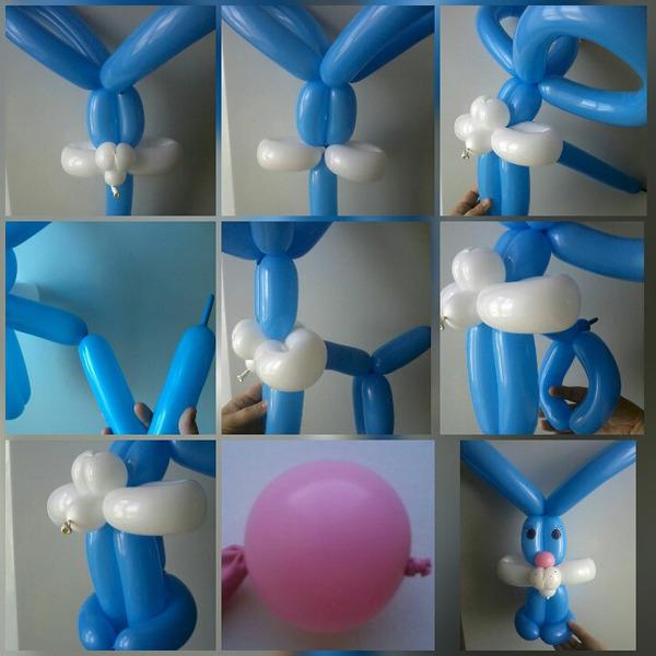 Фигуры из шаров своим руками 882