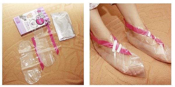Фото носочков для педикюра в открытом виде