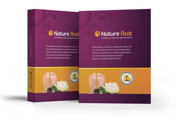 Носочки для педикюра Nature Foot