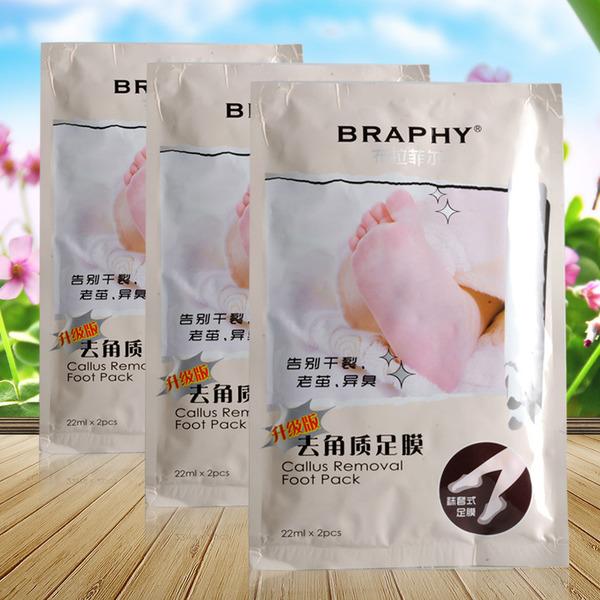 Носочки для педикюра Braphy Callus Removal Food Pack
