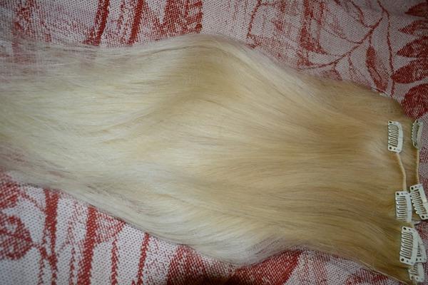 Накладные волосы на заколках легко использовать самостоятельно